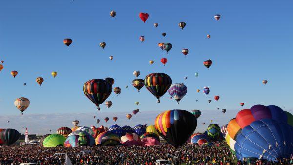 Balon Manzarası Duvarkağıdı Modelleri